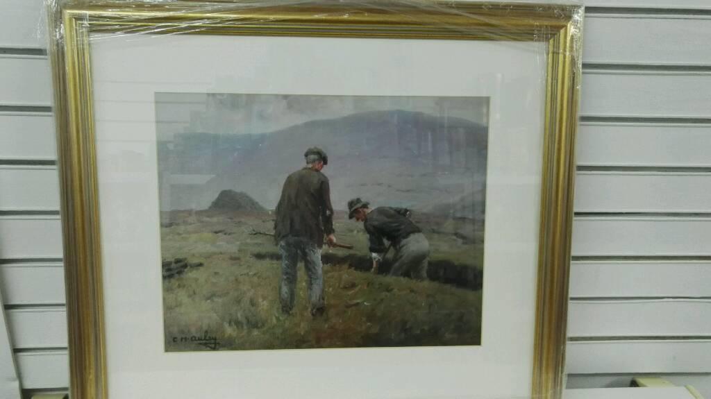 New Charles McAuley Countryside Print