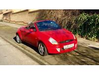 2004 FORD KA 1.2 CONVERTIBLE 2 DOOR COUPE 7 MONTHS MOT 79000 MILEAGE