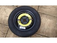 Skoda full size spare wheel and tyre