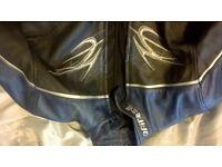 Women's dainese bike leathers , Shoei medium helmet