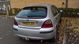 Rover 25 2.0diesel, Fresh MOT, Gearbox, Towbar, Only today 200 Pounds