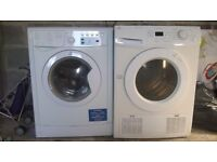 tumble dryer and washing machine for spares or repairs.
