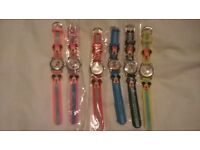x33 KIDS WATCHES MIXED DESIGNS AND COLOURS