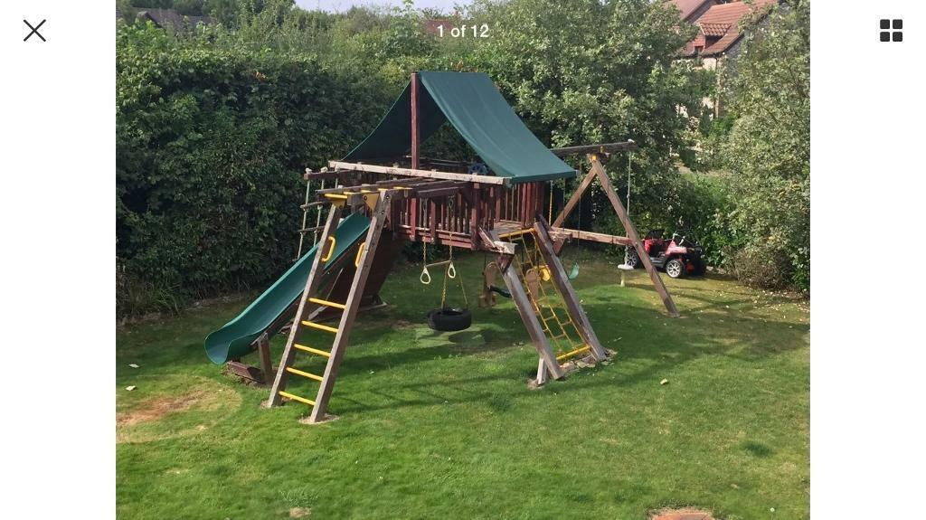 Rainbow System Climbing Frame Monster And King Kong Castle In Horsham West Sussex Gumtree