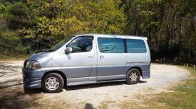 Totota Hiace Grand day van - MPV. Ideal camper conversion - 8 seater