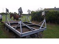 Solid yacht cradle no longer needed. Suitable for anything up to 34 foot boat