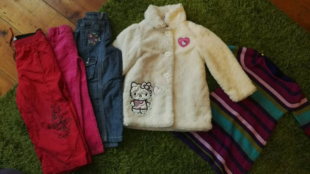 Girls clothes 3-4years bundle