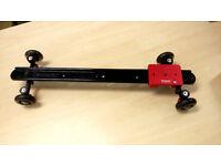 KAMERAR SD-1 60cm Camera Slider Dolly Stabilizer for Video Camera, Smooth wheel -EXCELLENT CONDITION