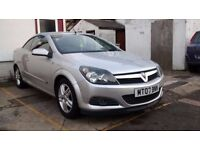 2007 VAUXHALL ASTRA TWINTOP 1.9 CDTI DIESEL CONVERTIBLE 6 SPEED