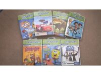 LEAPSTER GAMES X 7 IN GOOD CONDITION