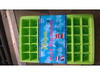 box of plant pots seed tray inserts. pack of 5