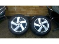 MAZDA 6 16INCH ALLOY WHEELS WITH TYRES