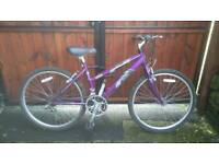 Ladies raleigh vixen mountain bike virtually new!