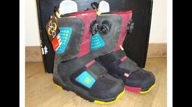 DC Status Travis Rice Snowboard boots size 8