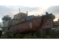 Tug boat house boat for sale £1700 ono
