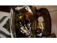 loads of rods and reels bait tackle sel separately or as 1 lot