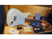 Fender Custom Shop '62 Stratocaster NOS , Olympic White