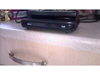 Dion freeview set top box..remote and cables..