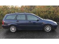CHEAP DIESEL FORD FOCUS ESTATE 1.8L TD (2003) year mot car/van