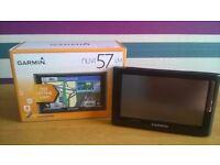 Garmin Nuvi 57LM 5 inch SAT NAV with UK, Ireland and Western Europe Free Lifetime