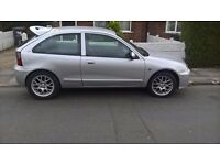 mg rover zr 12month m.o.t