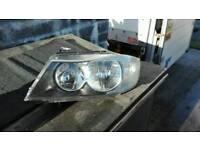 Pair Bmw headlights e90 e91