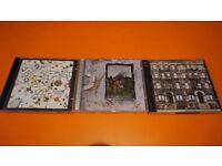 3 ALBUMS LED ZEPPELIN III, LED ZEPPELIN IV & PHYSICAL GRAFFITI DOUBLE ALBUM.