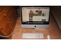 iMac 24-inch 2.4ghz Inte Wifi Bluetooth Webcam Dvdrw with Box