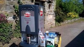 Kenco Millicano Commercial Hot Drink Coffee Machine Cafe Restaurant Pub Vending Free Ingredients
