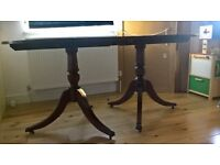 wooden dining table seats 6
