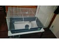 Gini pig cage + stand