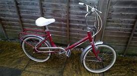viceroy folding bike