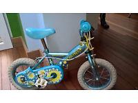 Bumble Bee Blue child's bike