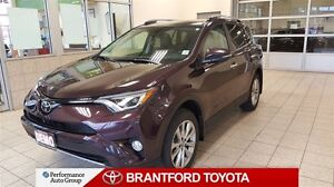 2017 Toyota RAV4 Limited-AWD-DEMO-NAVI-SUN ROOF-LEATHER