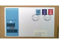 Stamps. 10 British Post Office First Day Covers from 1973 & 1974