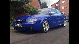 Audi S4 4.2 V8 400bhp, rare nogaro blue, huge spec, low miles
