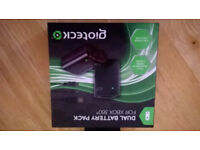 X BOX 369 DUAL BATTERY PACK NEW