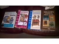 4 x books on antiques..Millers..