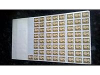 65 1st Class stamps