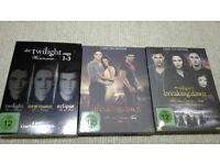 Twilight Saga - Complete Set - All 5 Movies on DVD