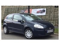 2009 59 FIAT PUNTO GRANDE 3 DOOR EXCELLENT LITTLE CAR, GOOD HISTORY , WELL MAINTAINED £1250.00