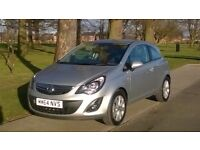vauxhall corsa excite special edition 17k miles, 64 plate, FSH, RCL, bluetooth, leather seats