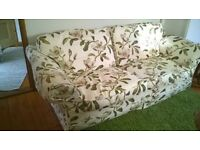 3piece sofa (dfs) with new plum covers(£700) in very good condition.