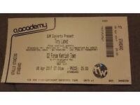 Tory Lanez Concert Ticket - 6th April