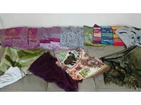 Thai and Indian cushion covers and throws!