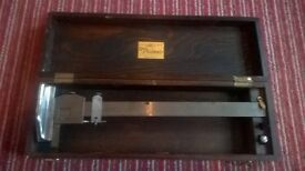 13inch Grey & Rushton ltd vintage precision height measuring tool and case.