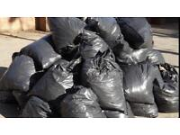 RUBBISH REMOVALS / BLACK BIN BAGS / GARDEN SHED / GARAGE LOFT AND CELLAR CLEARANCES
