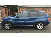 2002 52reg BMW X5 3.0i Blue Automatic Full Mot