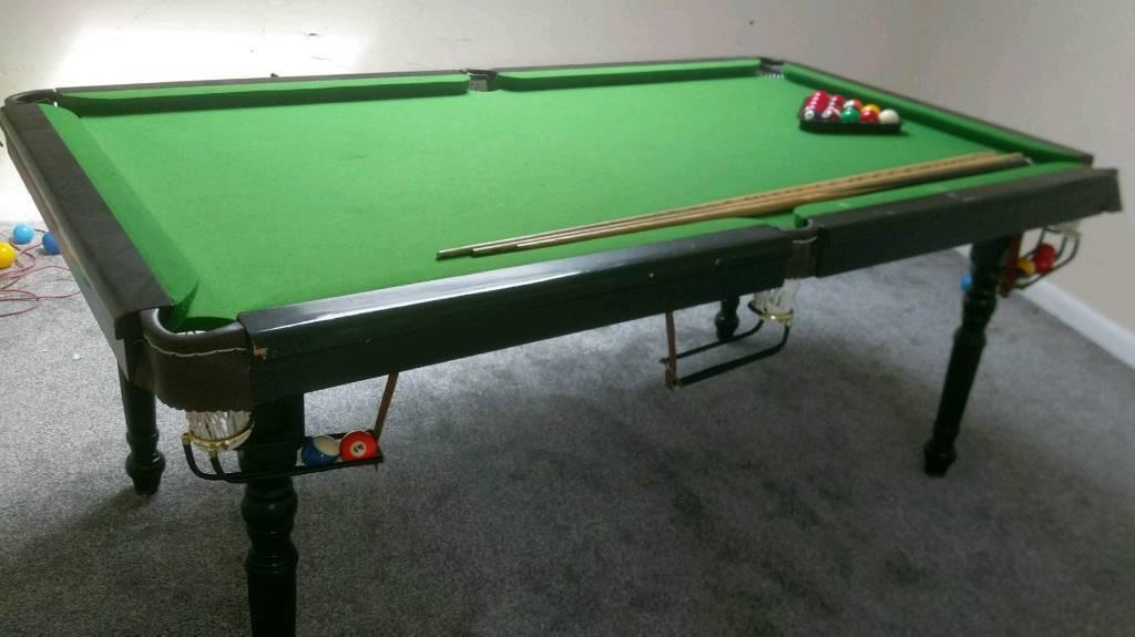 6ft Ambassador Snooker / Pool Table