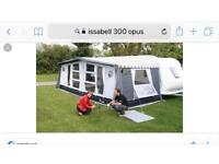 Isabella awning opus 300. With new side exstension only used twice